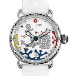 Michele Seasode Diamond Watch